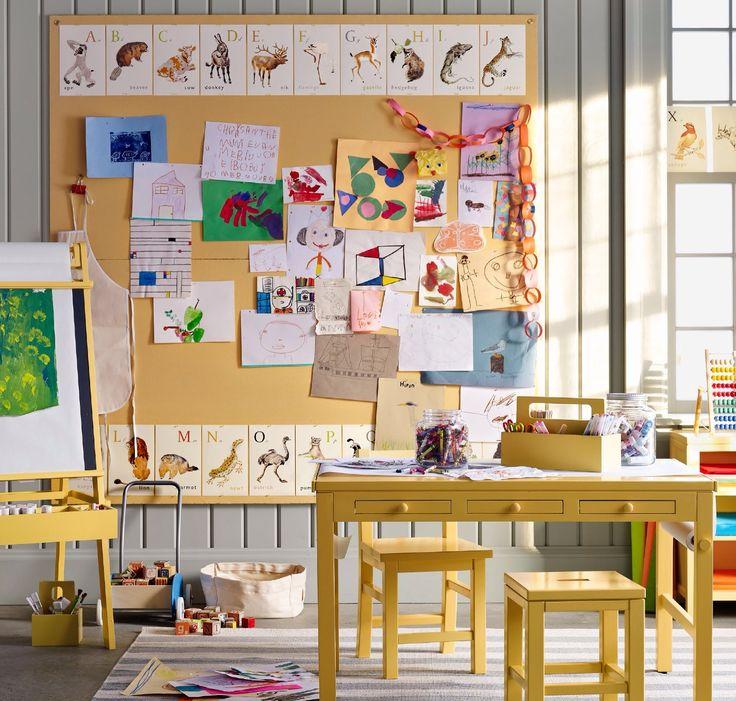 art display bulletin board in martha stewartu0027s
