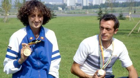 Pietro Mennea e Sara Simeoni!