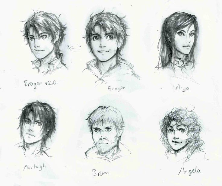 Eragon: character sheet by lorellashray.deviantart.com One of the best book seires ever, if only I was this talented.