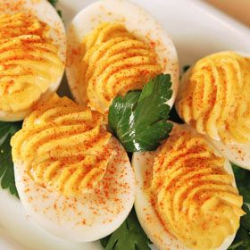 Basic Devilled Eggs, a recipe from ATCO Blue Flame Kitchen.
