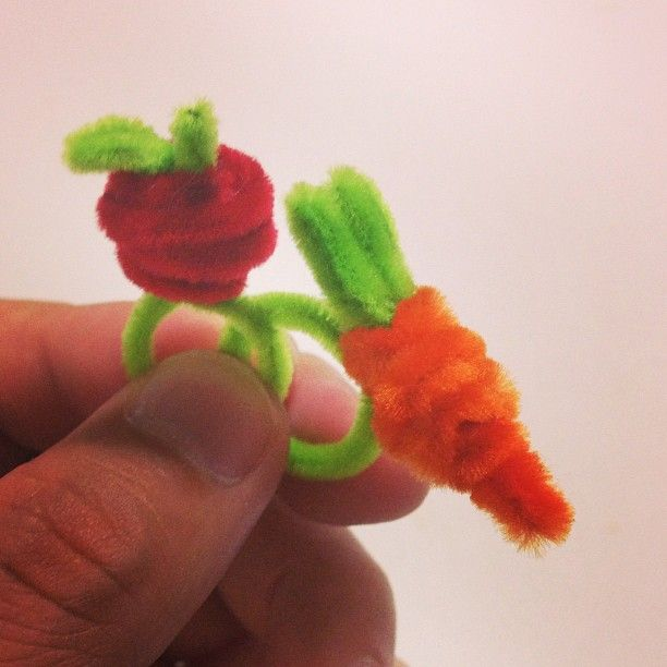 Pipe cleaner ring.