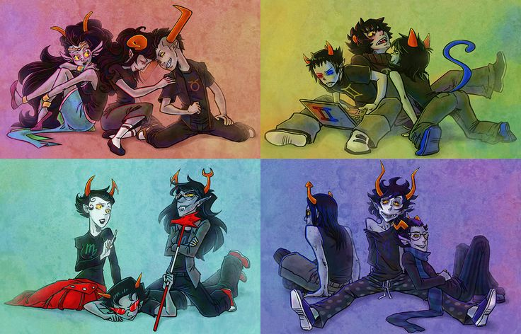Homestuck  troll seasons