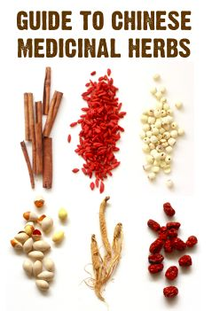 A guide to Chinese medicinal herbs!