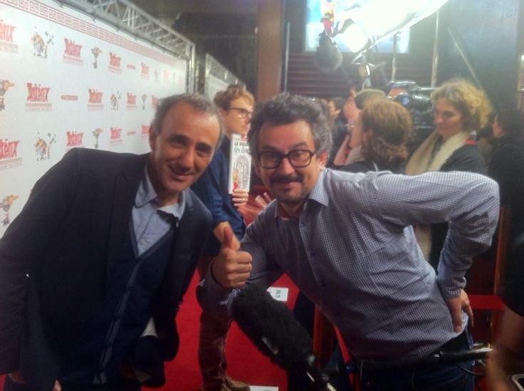 RT #ASTERIXDDD #Exclu @SemounElie et notre journaliste de @m6 pour l AVP au @LeGrandRexOff #date 26/11 au #cinema