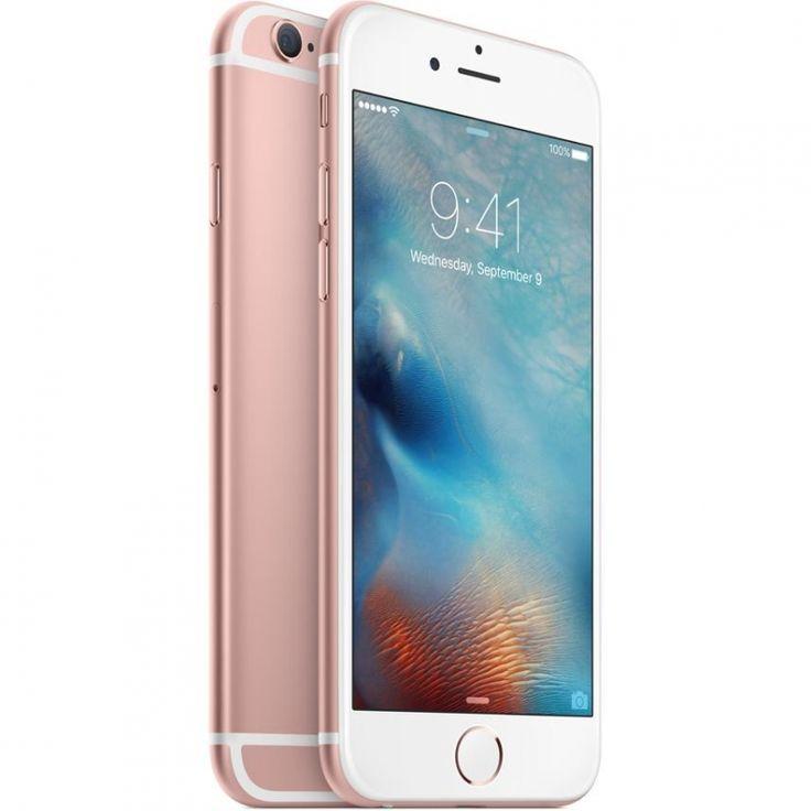 Apple iphone 6s smartphone 4g lte 128 gb rose gold