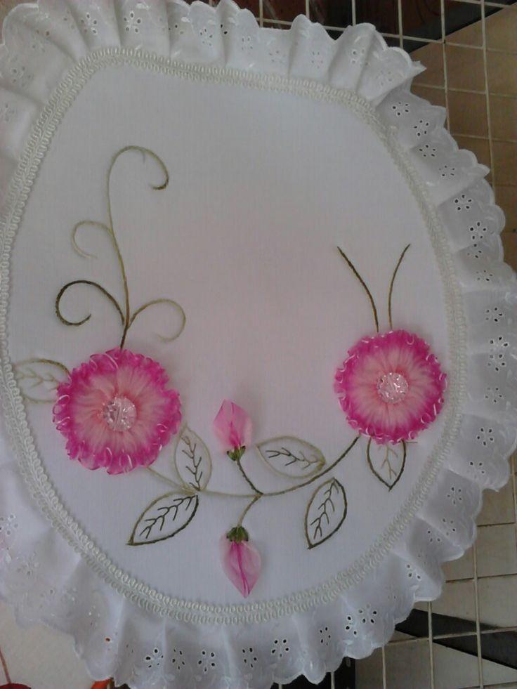 Best flores de cinta images on pinterest