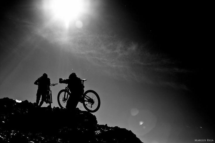 Andreas Hestler and Seamus McGrath. Chilcotin, BC.