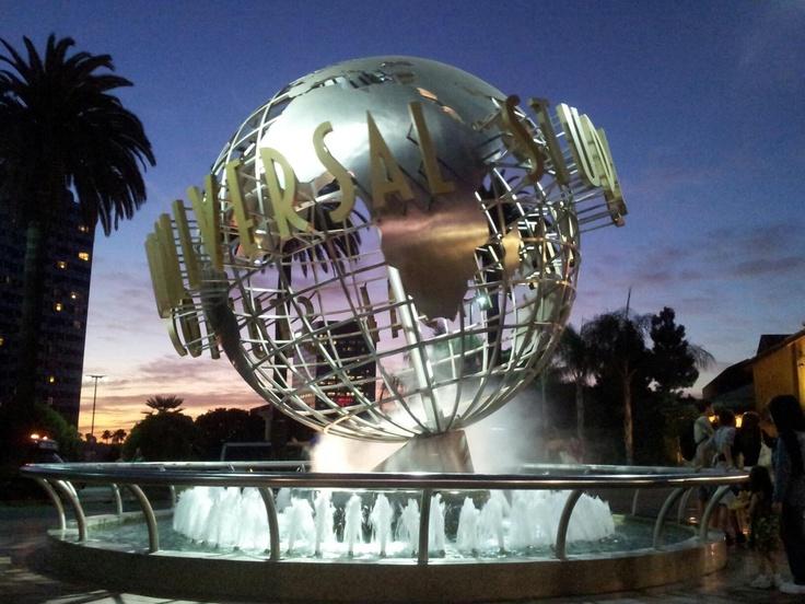 Los Angeles Universal Studios by night