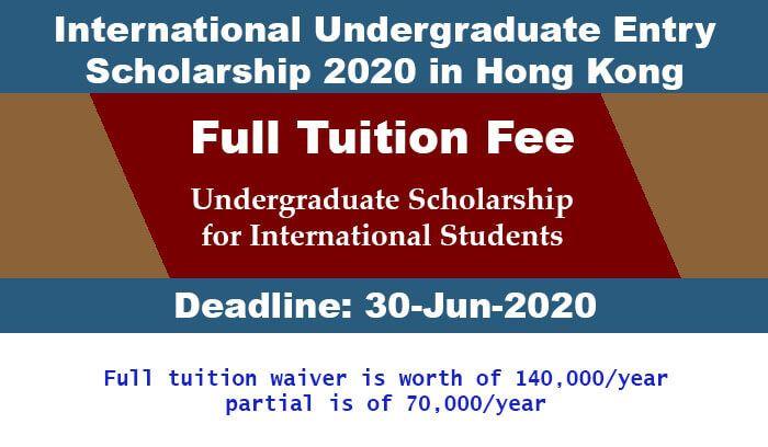 Us Scholarship Full Scholarships For International Students In Hong Kong