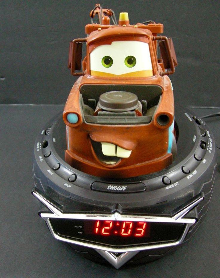 Disney Cars C300ACR Talking Tow Mater Tire Radio Digital