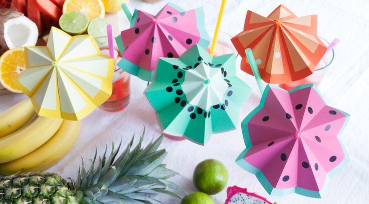 Tutti Frutti Cocktailschirme - ombrellini