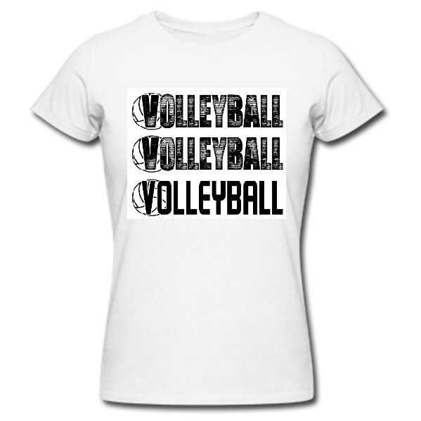 A personal favorite from my Etsy shop https://www.etsy.com/listing/183925648/volleyball-shirt-cute-volleyball-shirts
