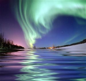 Aurora Borealis - Reflections