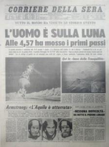 Sbarco sulla Luna, le prime pagine dei quotidiani - Adnkronos Fotogallery