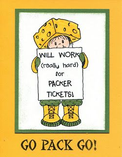 super cute and totally true - cheesehead no matter what!