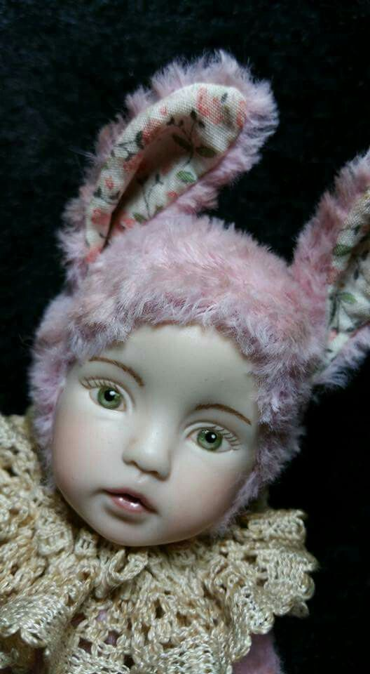 Bunny doll Queenie made by Esther Lee