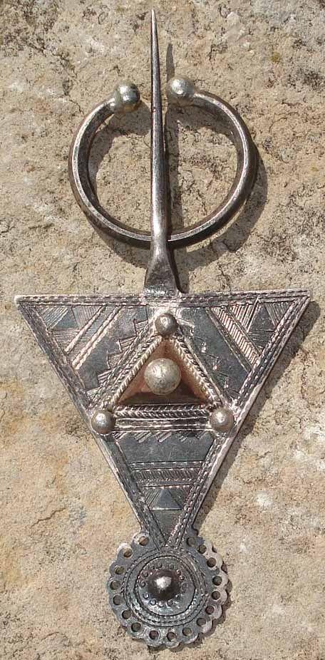 Fibule Berbère EN Argent Afrique DU Nord | eBay