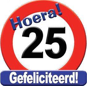 Gefeliciteerd 25