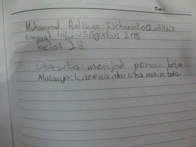 #FutureFactory: Hand Writing by Radithya Ikhwanto