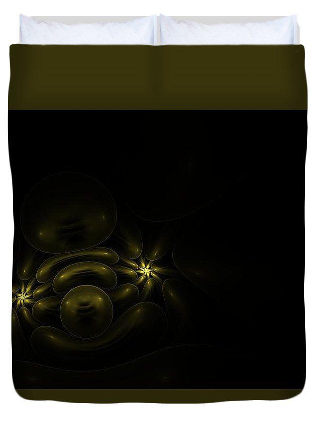 Fractal Duvet Cover featuring the digital art Hidden Treasure by Elena Ivanova IvEA
