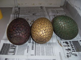 Making Game of Thrones (cosplay)!: Dragon eggs tutorial - Dragon eggs tutorial