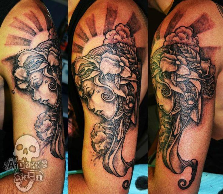 Adam Megens - Adam's Eden Tattoos   http://www.laceandcrosses.co.za/adam-megens-adam-edens-tattoos/ #tattooaddict #tattoosupplier