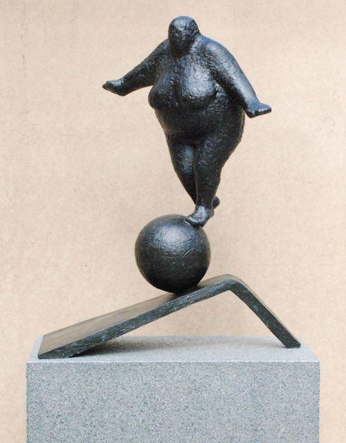 Balance with energies, 2014, by Keld Moseholm