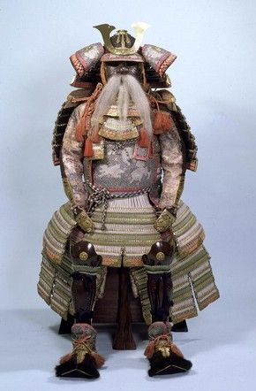 Suit of armour, made by Myochin Muneharu, Japan, 1859. Museum no. 362 to R-1865, © Victoria and Albert Museum, London