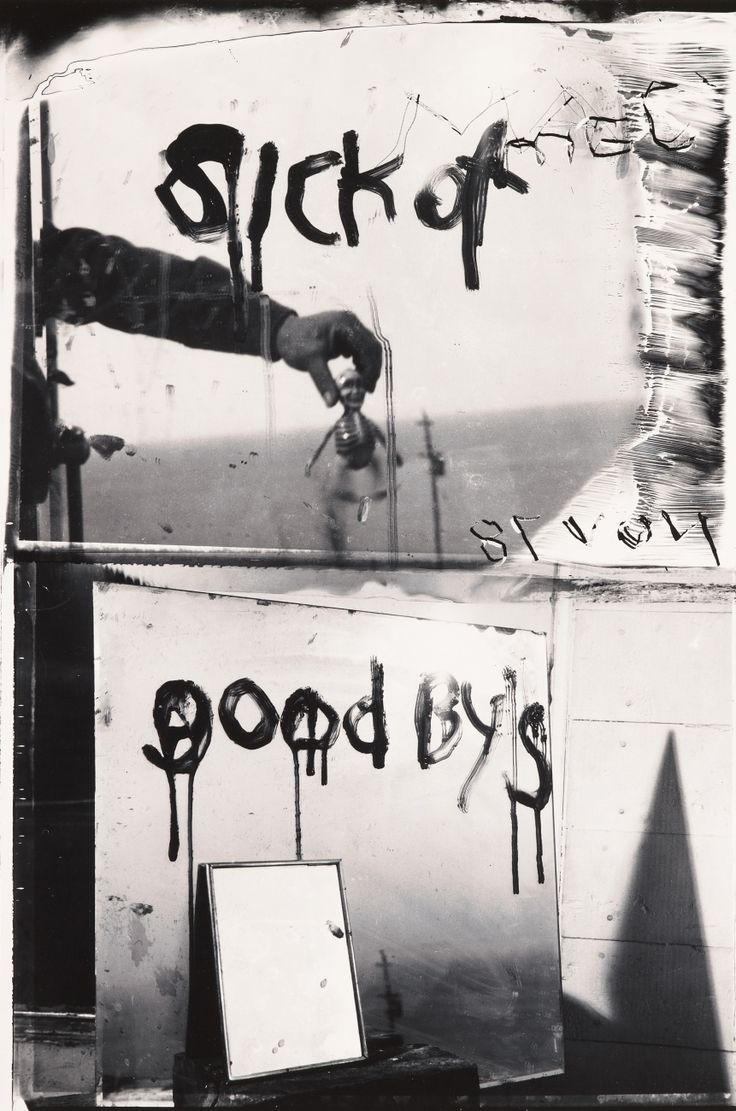 Sick of Goodby's, Mabou, 1978, Robert Frank
