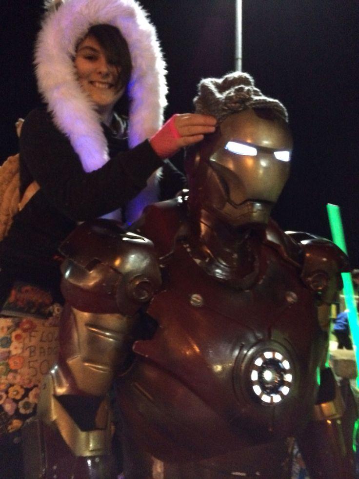 Me and Iron Man!!