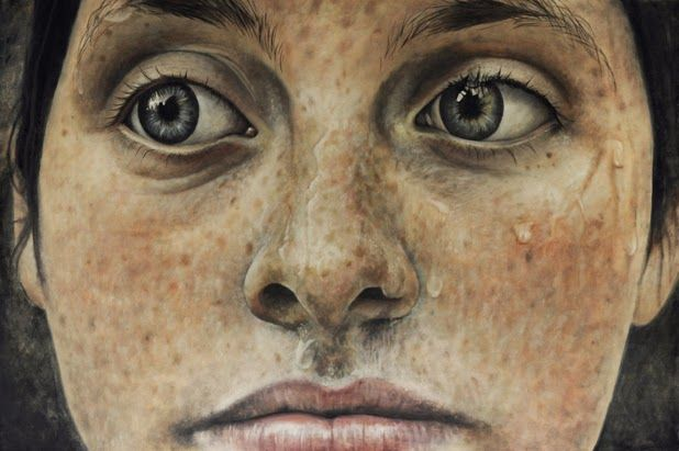 Juxtapoz Magazine - Las pinturas de Erica Elan Ciganek
