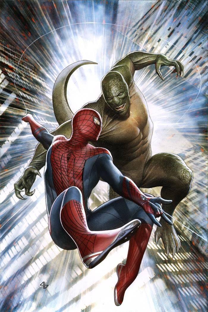 Spider-Man vs The Lizard by Adi Granov | Artist: Adi ...