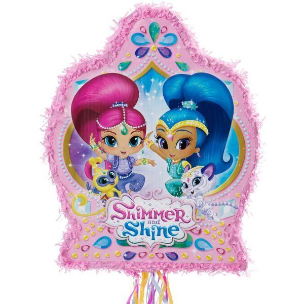 Pull String Shimmer and Shine Pinata