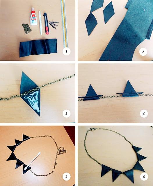 Hágalo usted mismo (DIY): DIY Cuero Collar / Collar de Cadena de piel