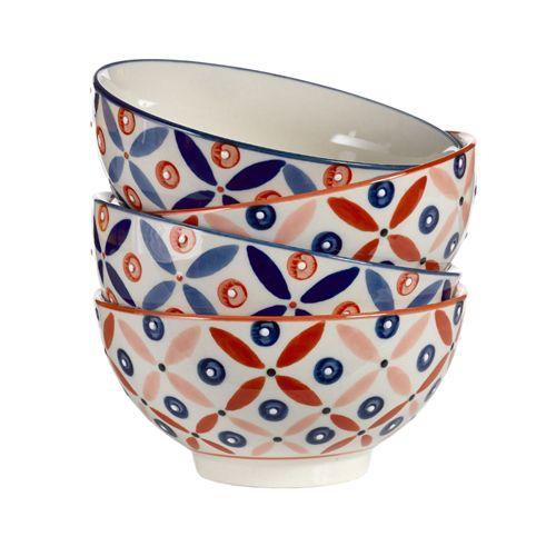 Bols en porcelaine peinte main - Petal Mix Pols Potten.