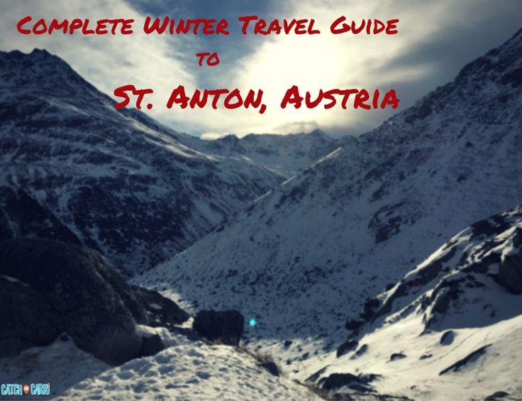 Winter Travel Guide to St. Anton, Austria #travelguide #wintertravel