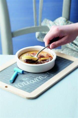 Crème brûlée au NUTELLA - Larousse Cuisine