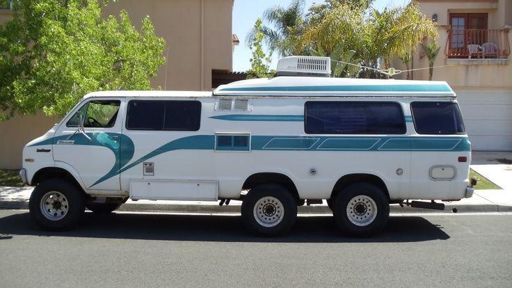 Dodge Tradesman Camper Van In The 80s It Had A