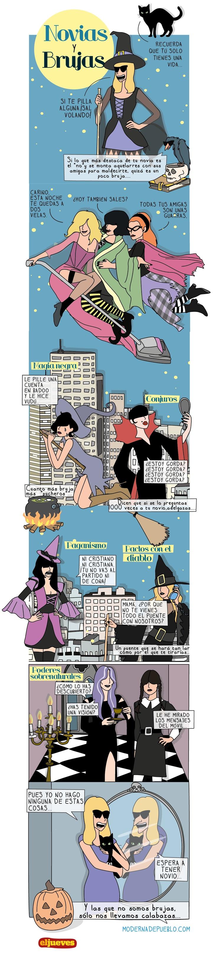 Mola ser una bruja :-)