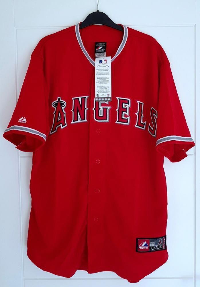 91b73580fb511 MAJESTIC LOS ANGELES ANGELS MLB Official Baseball Jersey Shirt Authentic  Men s M  Majestic  Baseball  Jersey  MLB  MajorLeague  Mens  Authentic