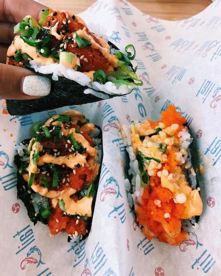 Sushi Tacos   POPSUGAR Food