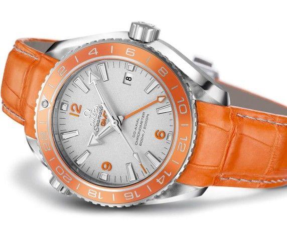 Omega Seamaster Planet Ocean Orange Ceramic