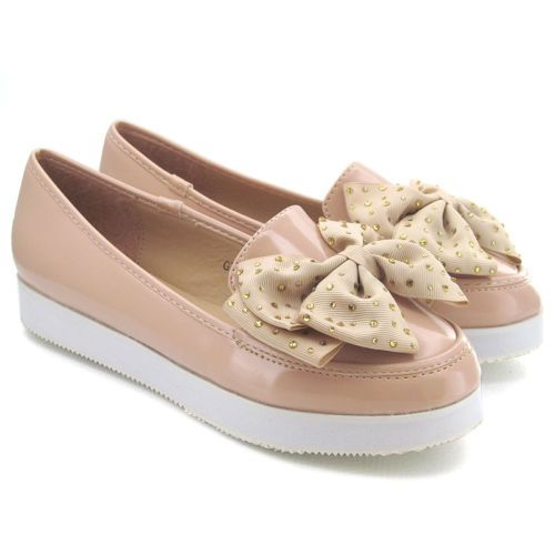 NEW WOMENS CREEPER LOAFERS LADIES FLAT PUMPS CASUAL BROGUE PLATFORM SHOES SIZE | eBay