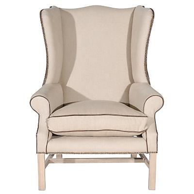 Maximilian Chair, Linen online at JohnLewis.com