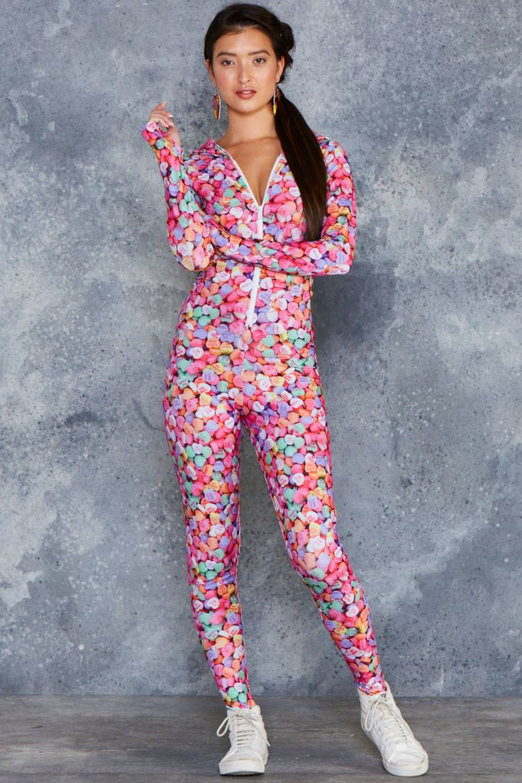 Candy Hearts Snuggle Suit - Weekend Sale, $150AUD