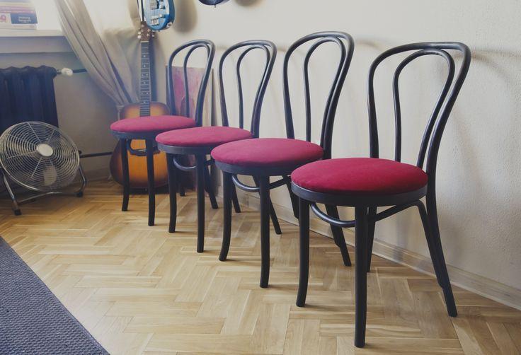 Annie sloan, wax, Aqua Clean textille. Industrialchairs by SteelRabbit