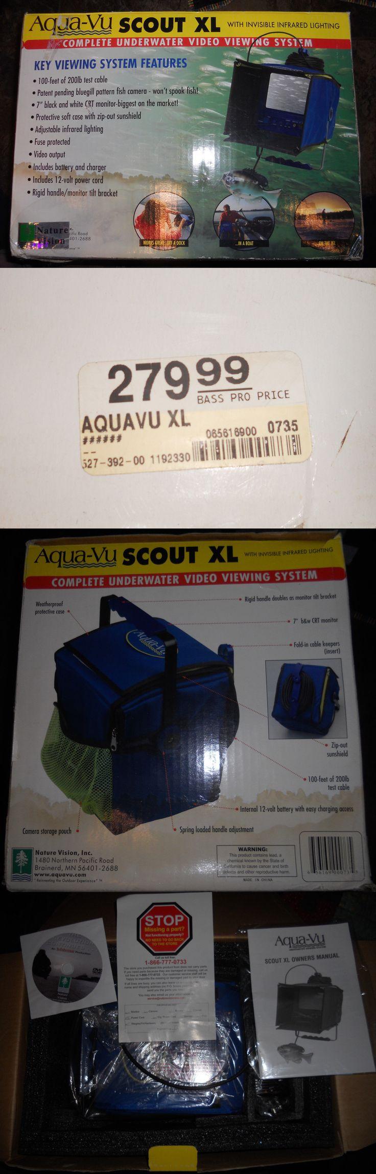 Underwater Cameras 180000: Aqua-Vu Scout Xl Underwater Video Camera Complete Underwater Video Vewing System -> BUY IT NOW ONLY: $119.99 on eBay!