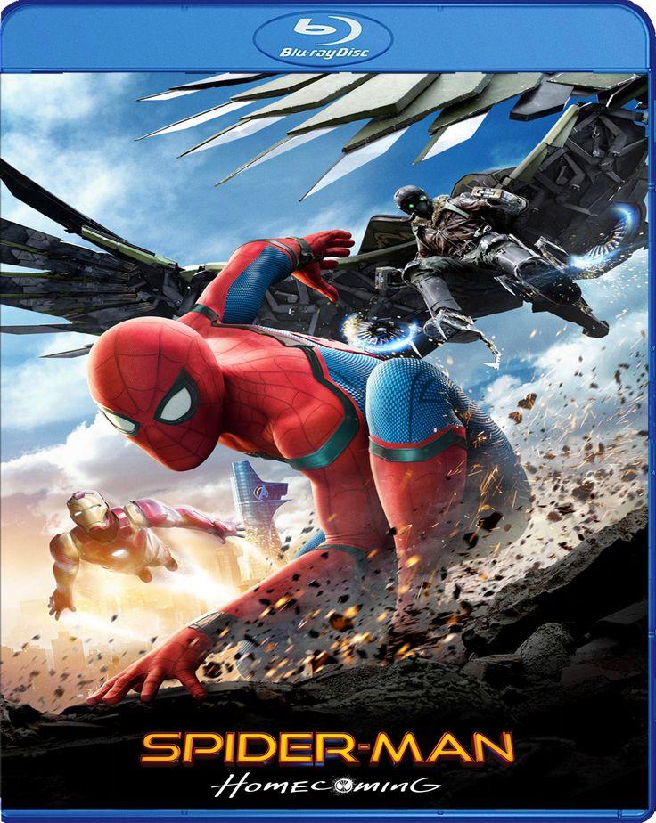 Spider-Man Homecoming - Örümcek Adam Eve Dönüş [2017] Blu-ray Cover