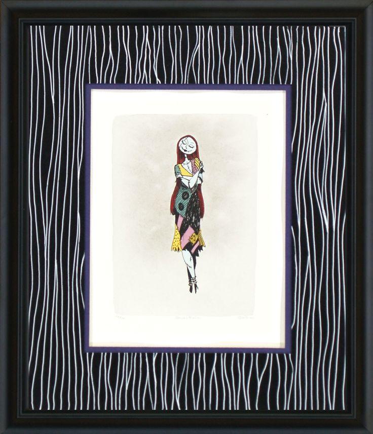 Nightmare Before Christmas - Sally Shy - World-Wide-Art.com - #nightmarebeforechristmas #halloween #disney #timburton