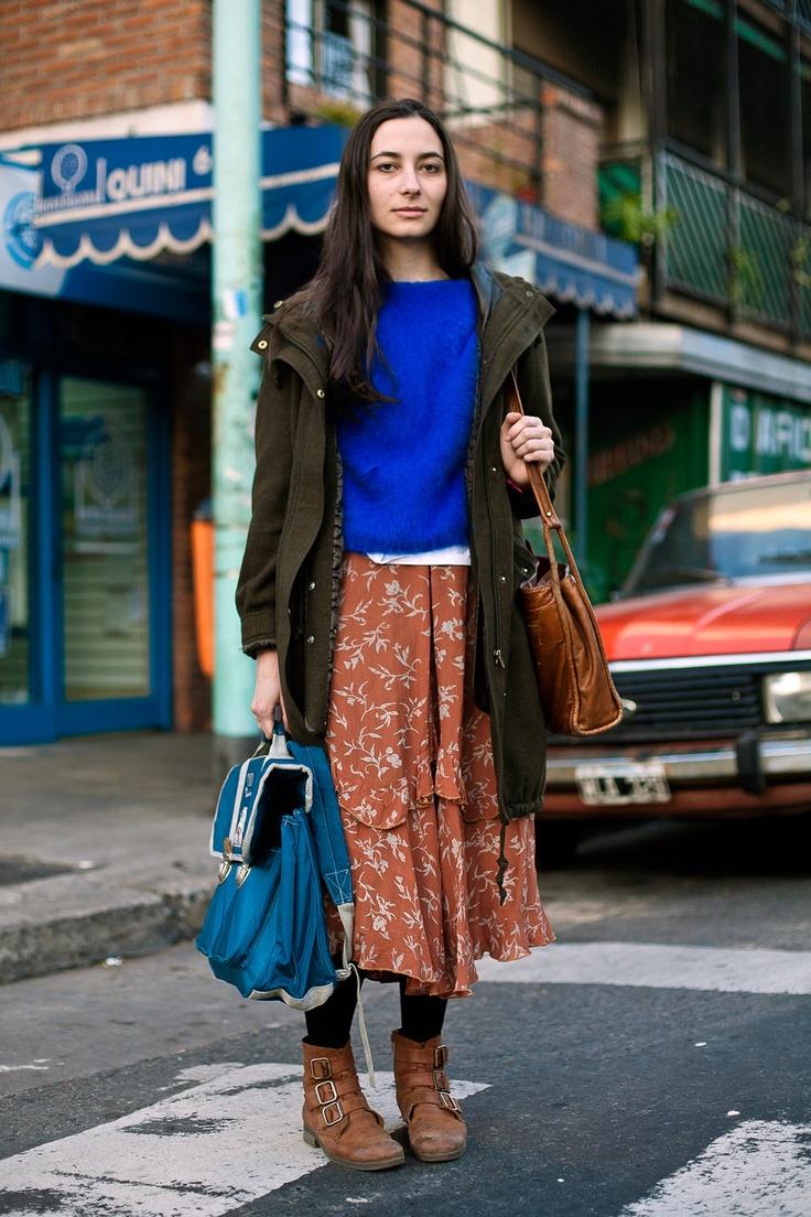 OTC - BUENOS AIRES STREET STYLE: Lola, 24 años, diseñadora industrial.